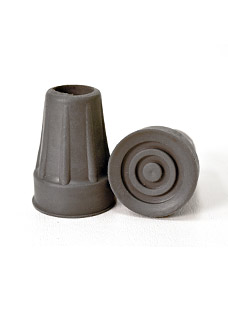 Large natural rubber crutch tip