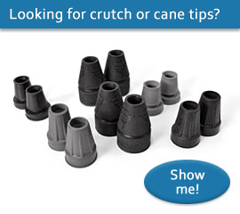 Crutch and cane tips