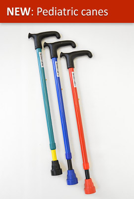 Pediatric cane model C60